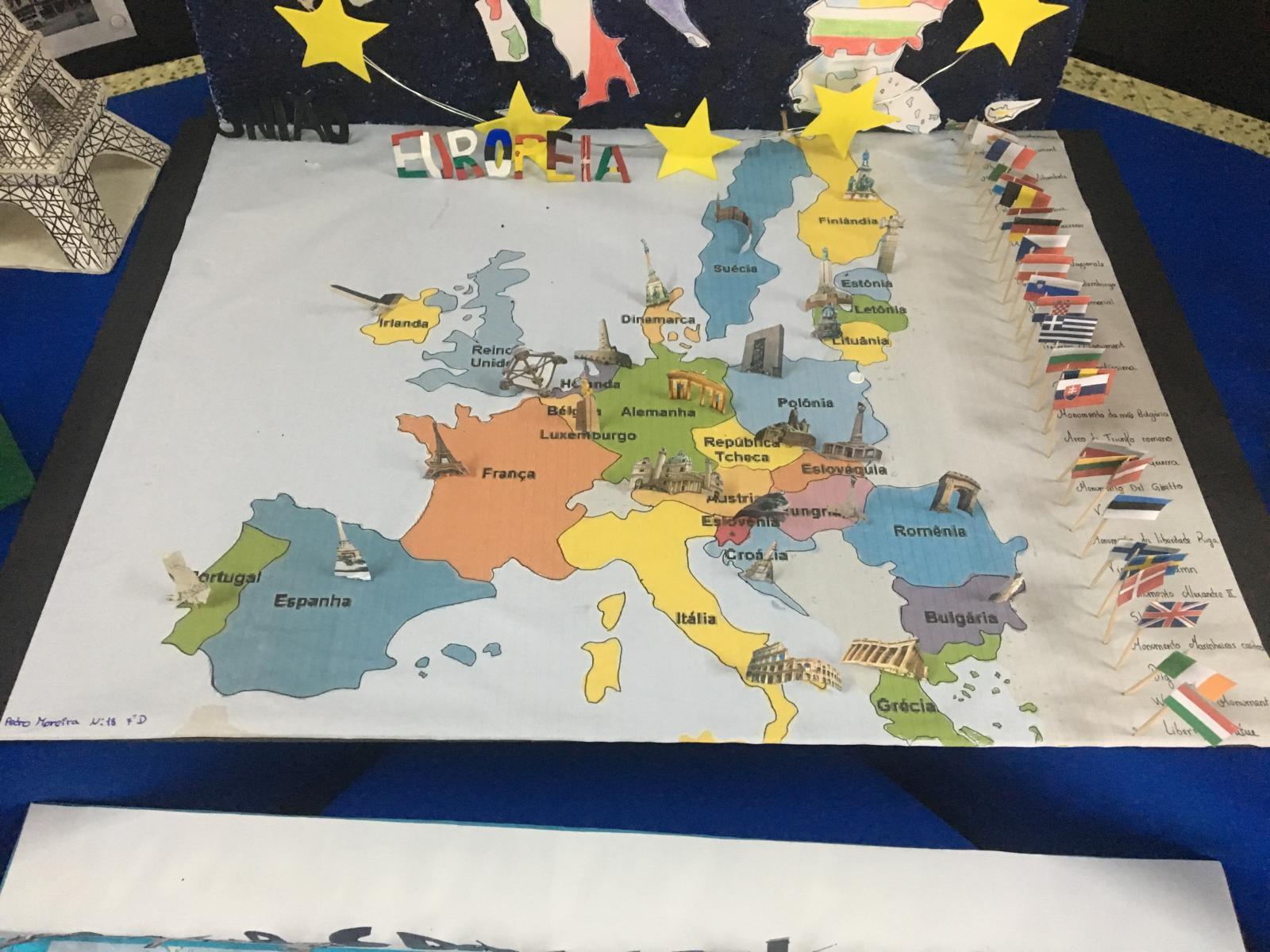 Comemoração do Dia da Europa