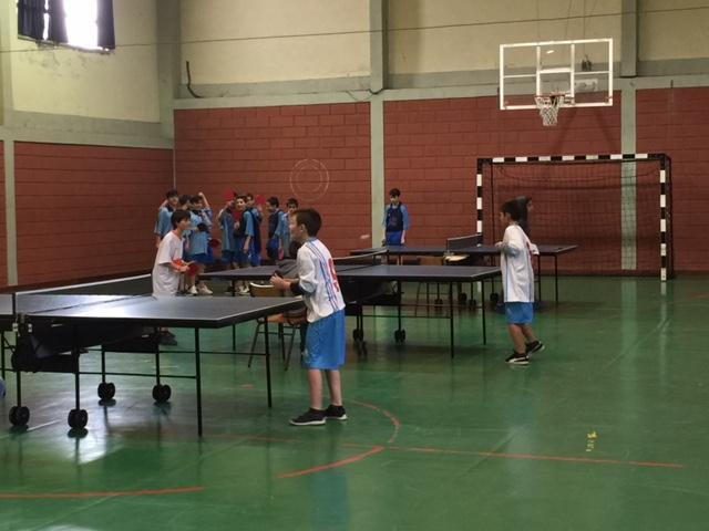 1.º Torneio de Ténis de Mesa - Desporto Escolar