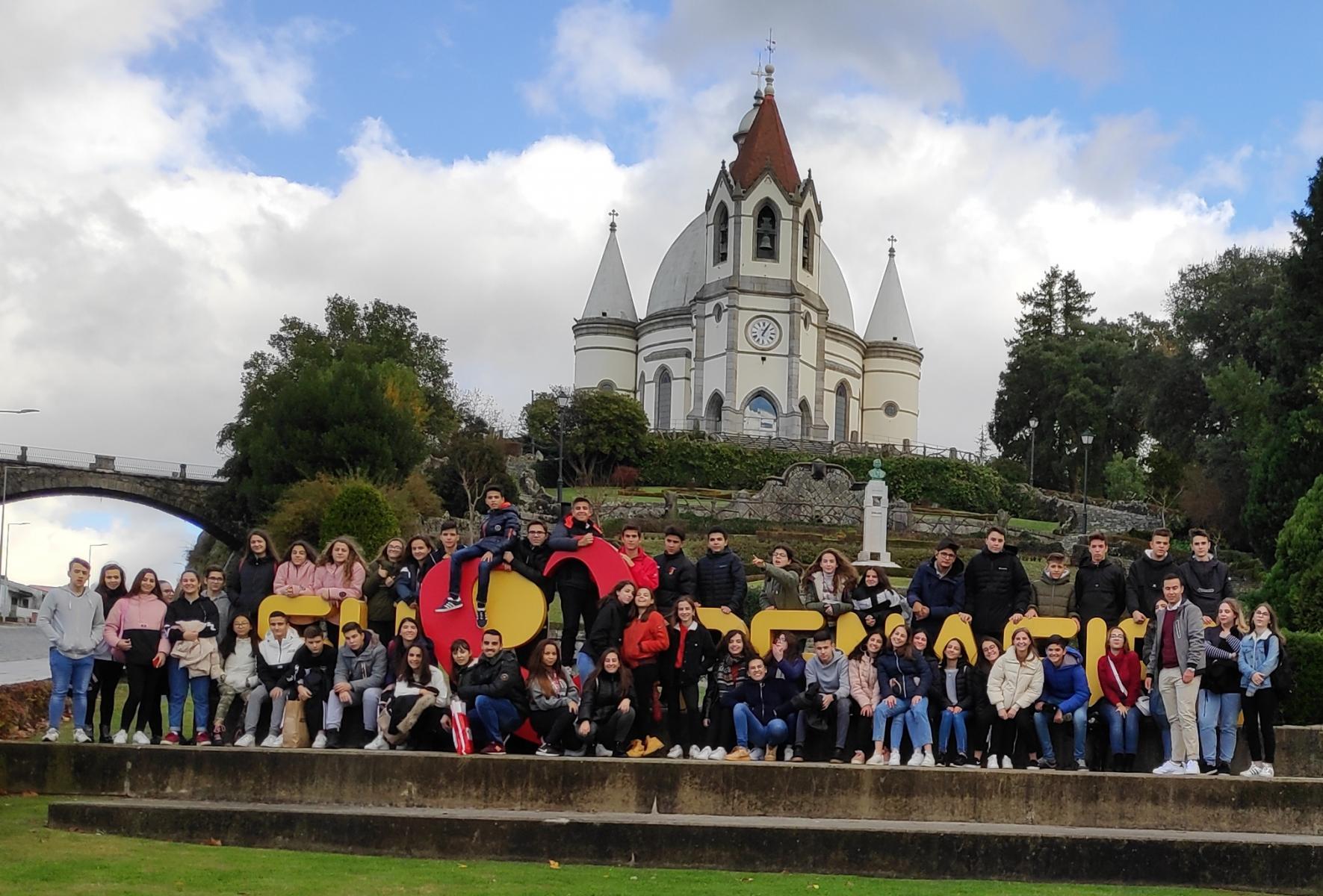 Receção aos alunos e professores do Instituto Conde de Lucanor de Peñafiel