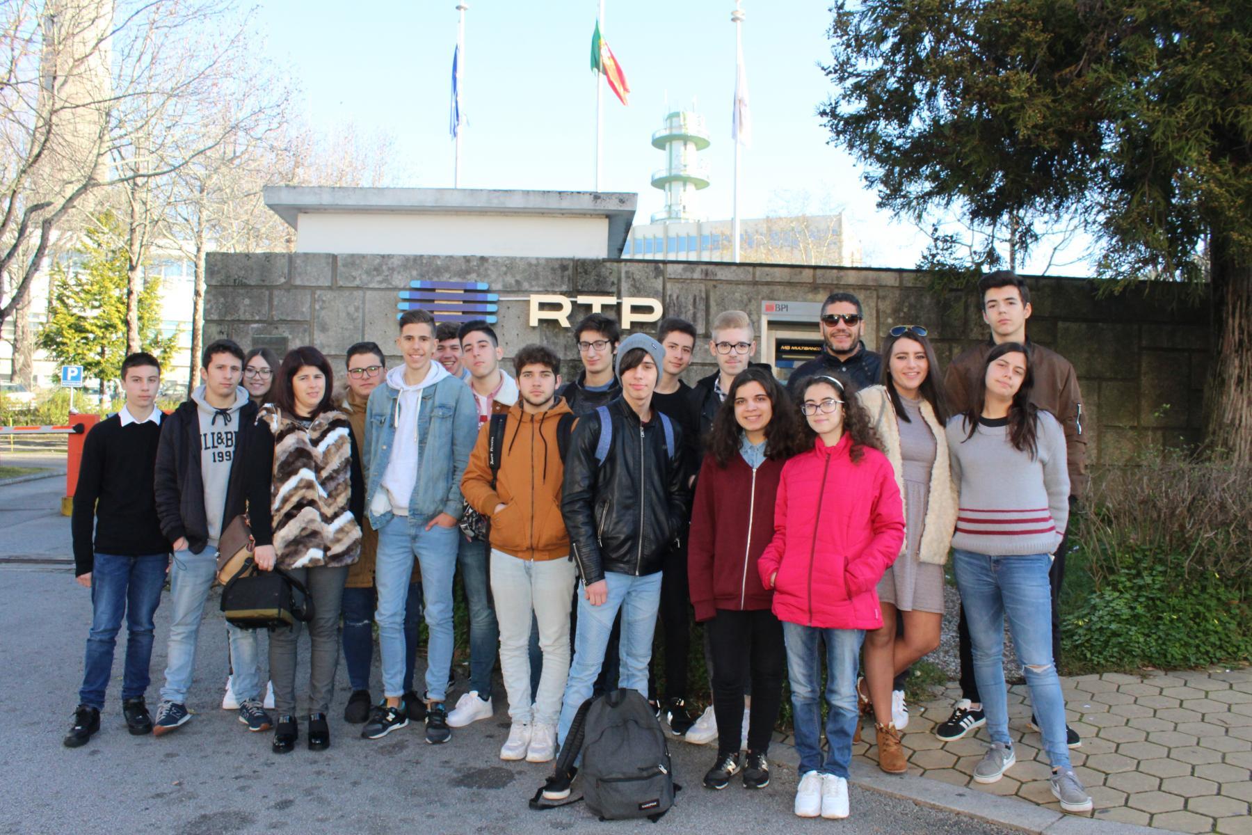 Visita de Estudo à RTP e à Rádio Nova Era