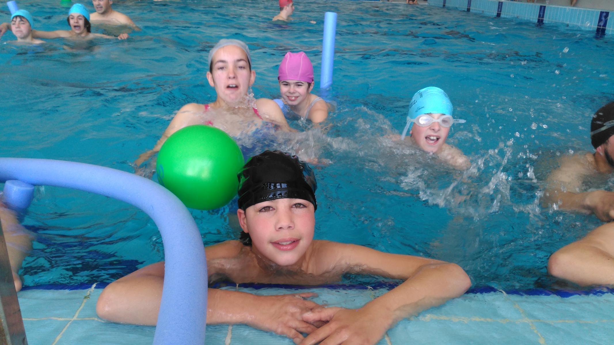3º encontro de natação