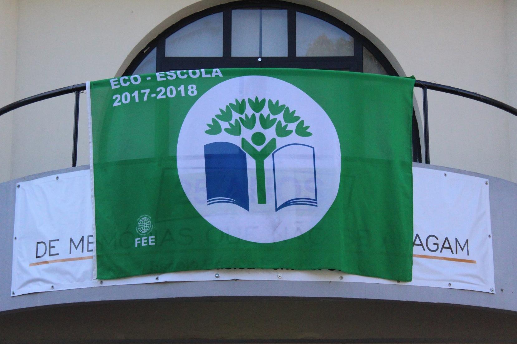 Hastear Bandeira Verde Eco-Escolas