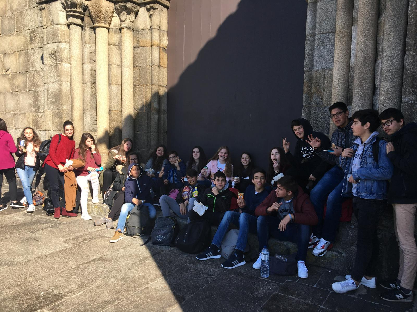Visita de estudo à Igreja de S. Francisco no Porto e à Nau Quinhentista em Vila do Conde