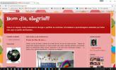 Blog e facebooK « Bom dia alegria»