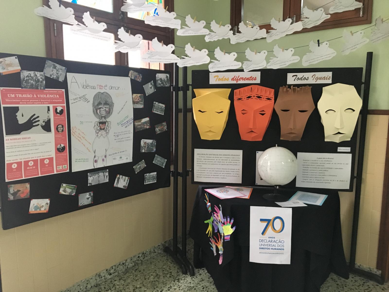 Comemoração de efemérides: 10 de dezembro: Declaração dos Direitos Humanos