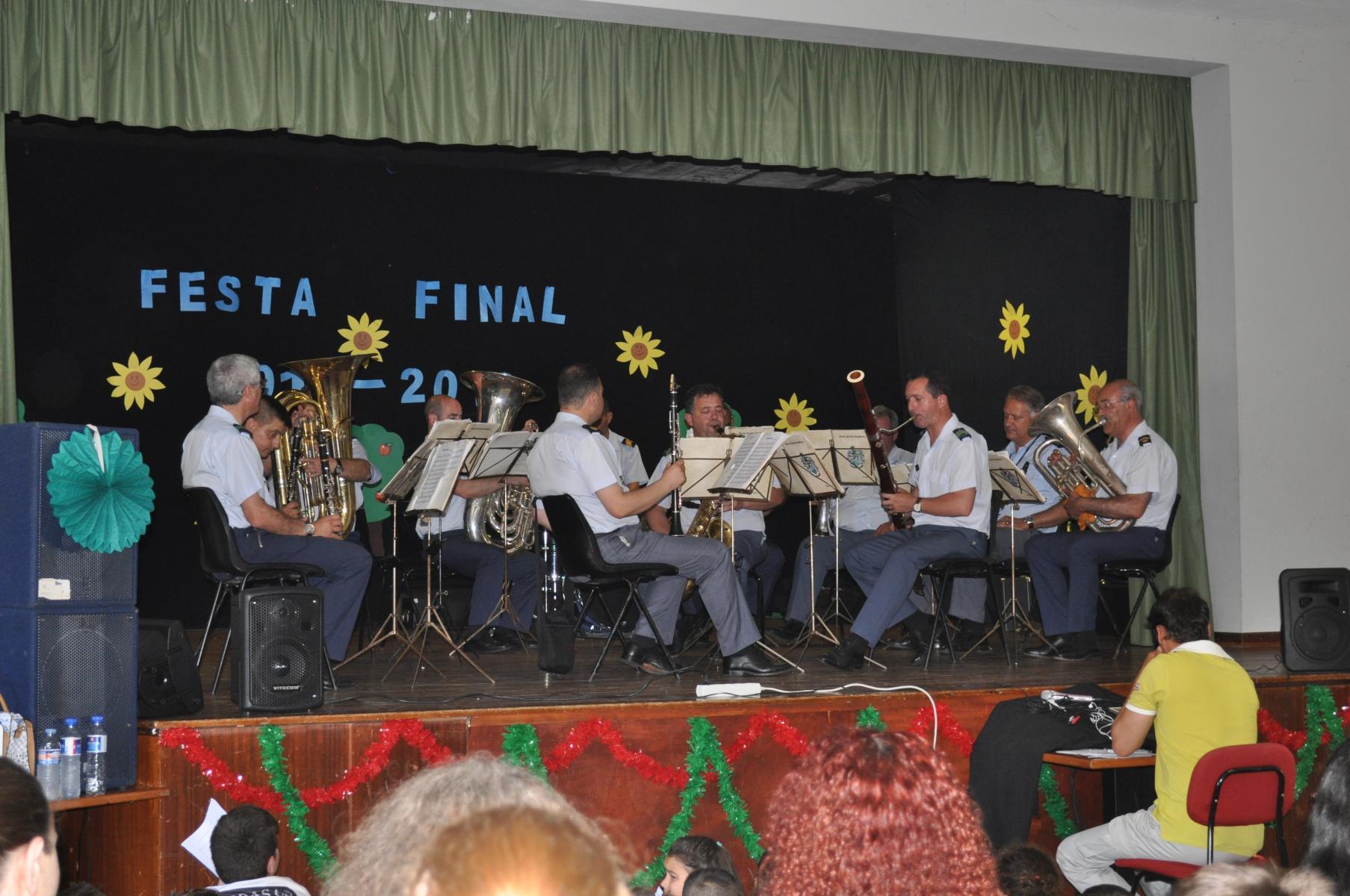 Encerramento do 3º período : Festa de Final de Ano/Atuação da Banda da GNR