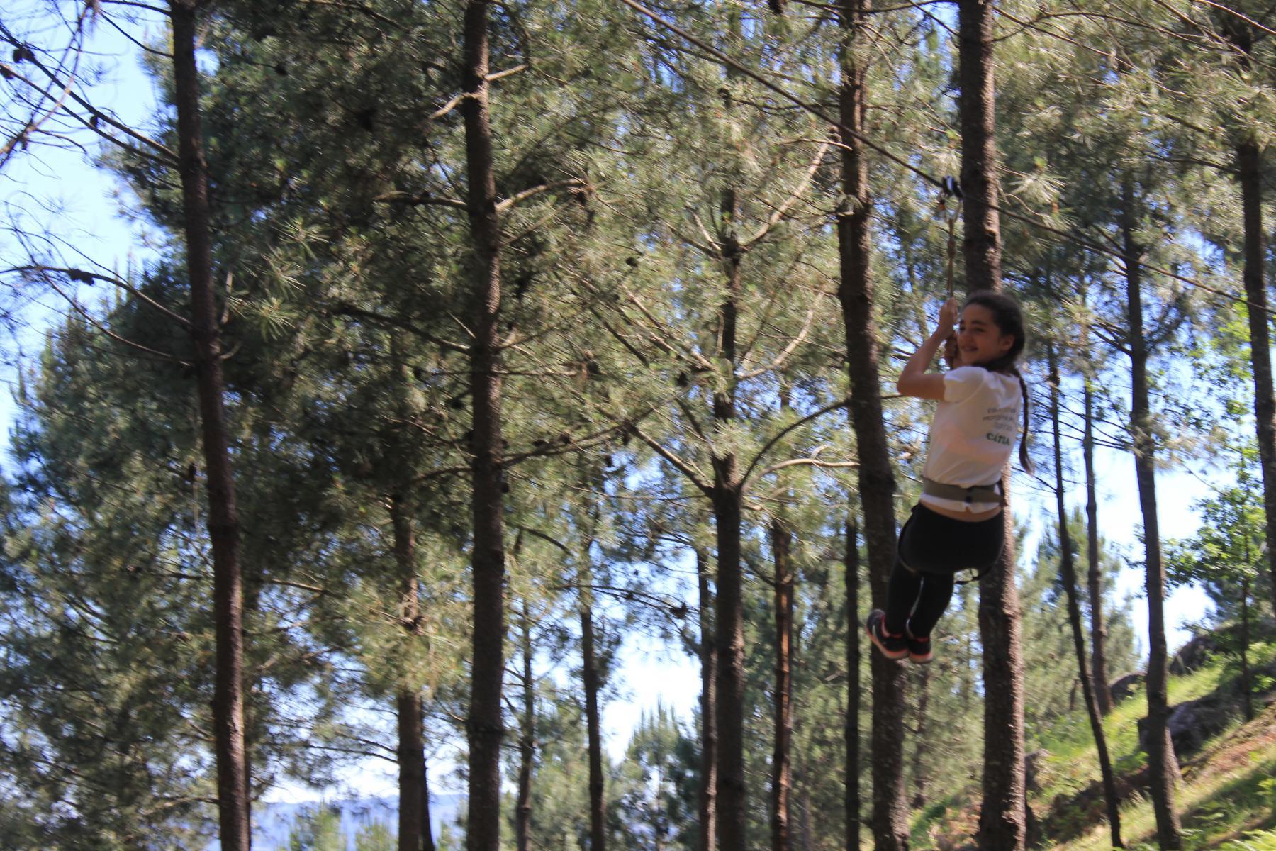Visita ao Parque Aventura Diverlanhoso