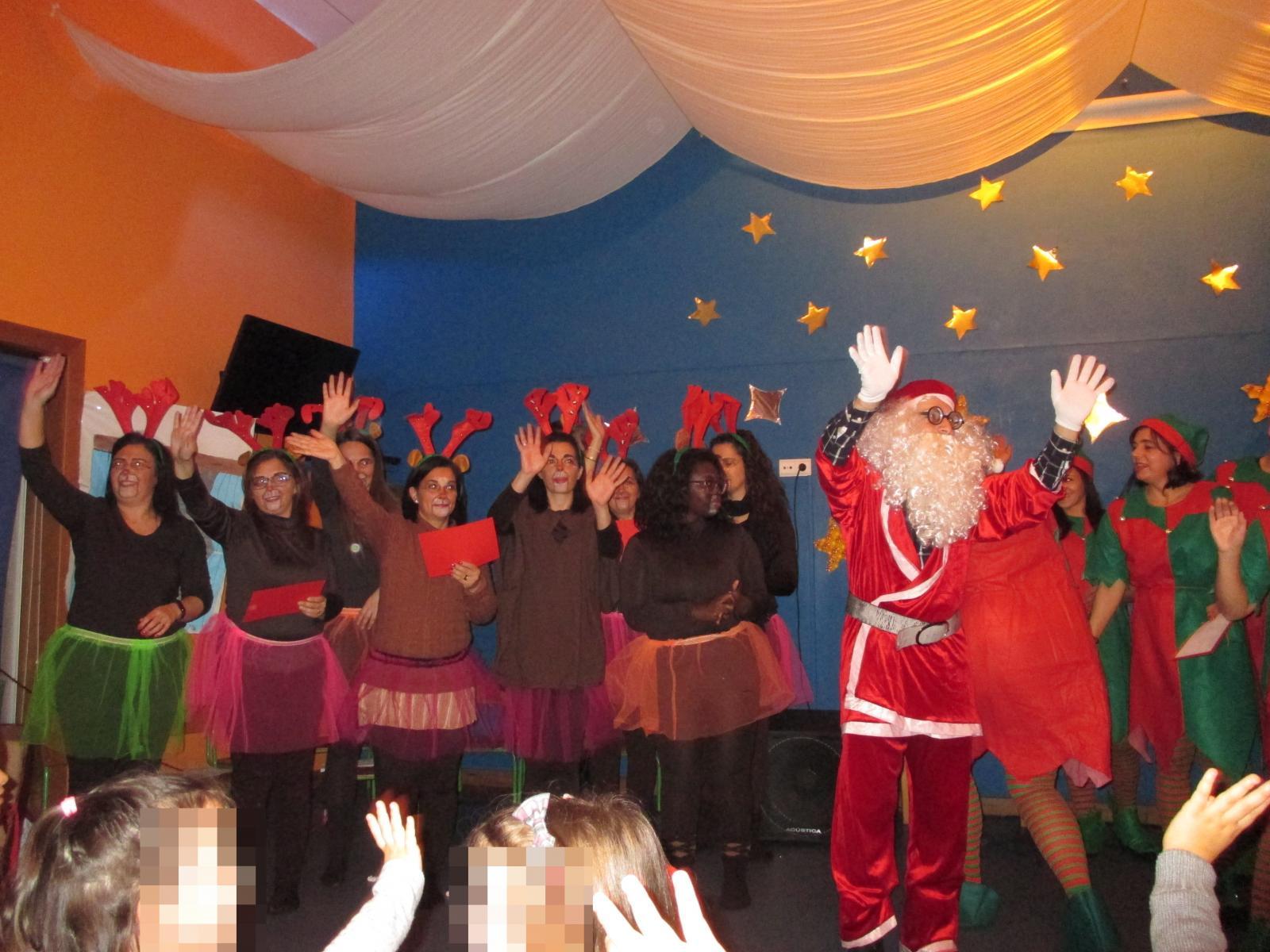 Encerramento 1º Período - Festa de Natal